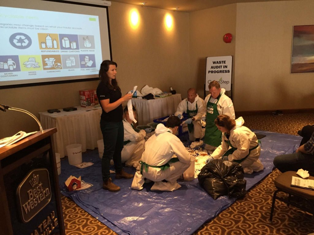 Organic Waste Workshop Sysco Kelowna Green Tourism GreenStep Solutions Inc