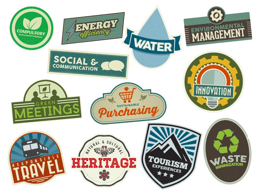 Green Tourism Criteria Logos