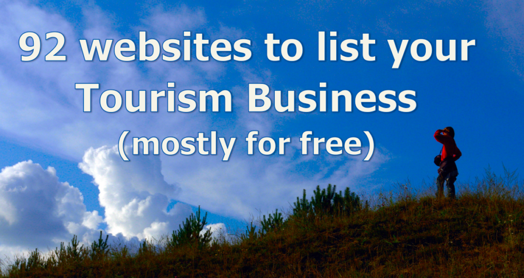 92 websites to list your tourism business