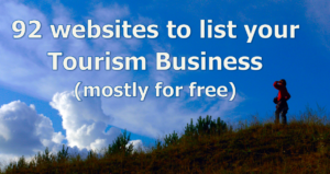 92 websites to list your ecotourism business (mostly for free)