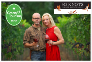 Sustainable Business: What's Green About 40 Knots Vineyard and Estate Winery