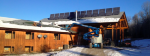 Bear Claw Lodge solar