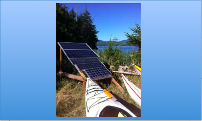 Solar Panels West Coast Expeditions