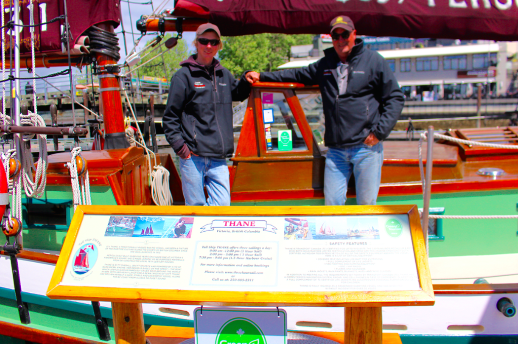 Tall Ship Thane Captains Rob and Pete