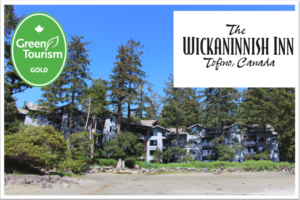 Wickaninnish Inn shines gold on the West Coast