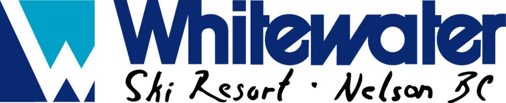 whitewater ski resort logo, nelson british columbia, canada