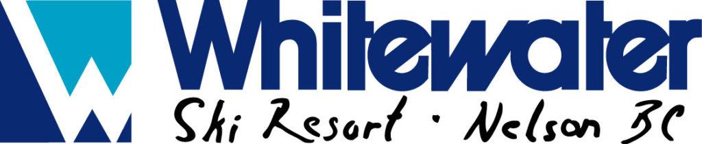 whitewater ski resort logo, nelson british columbia, canada